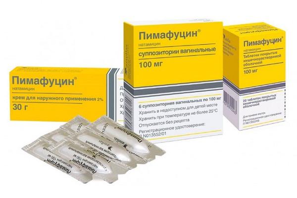 лечение пимафуцином молочницы