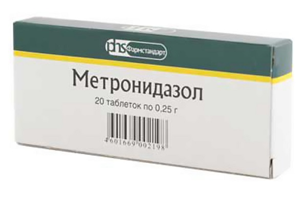 метронидазол инструкция