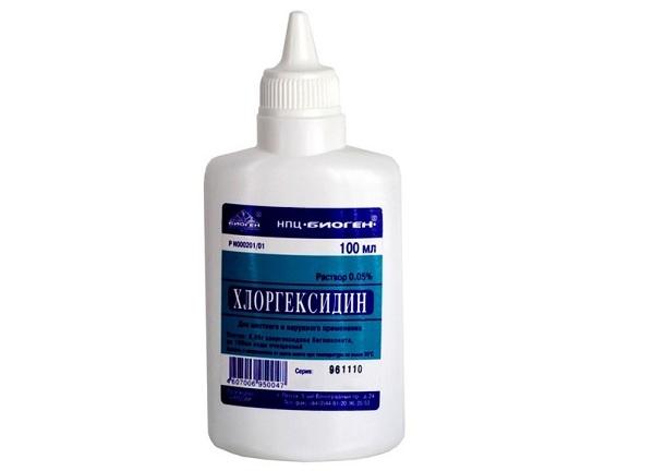 хлоргексидин инструкция