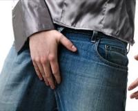Белые выделения на головке полового члена