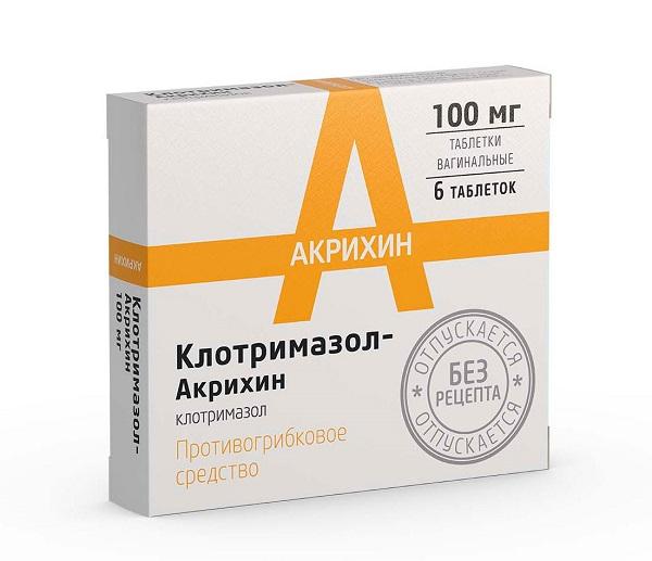 Препараты для лечения молочницы в 3 триместре