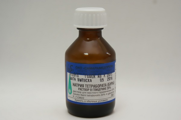 Тетраборат натрия тампоны при молочнице