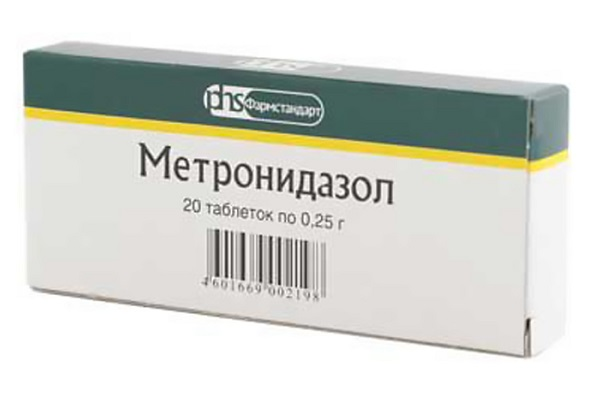 Лечение молочницы Метронидазолом у мужчин и женщин